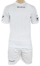 Givova Sports Wear Kit MC White XL