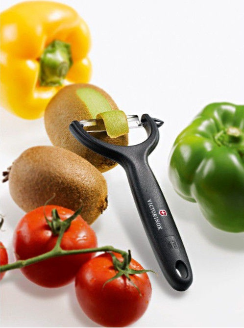 Victorinox Tomato and Kiwi Peeler Black