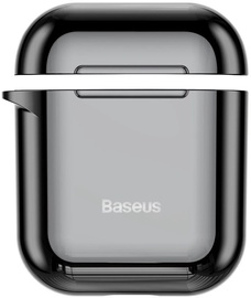 Baseus Metallic Shining Ultra-Thin Protector For Apple Airpods 1/2 Black