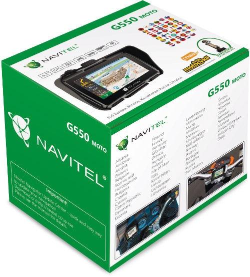 Navigeerimine Navitel G550 Moto