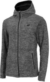 4F Mens Fleece Sweatshirt NOSH4-PLM002-20S Grey M