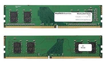 Mushkin Essentials 8GB 2400MHz CL15 DDR4 Kit Of 2 MES4U240HF4GX2