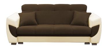 Diivanvoodi Idzczak Meble Blanca Brown/Beige, 237 x 93 x 95 cm