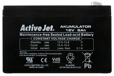 Activejet ACP-AK9 UPS Battery Sealed Lead Acid 12V