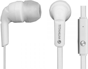 Esperanza Titanum In-Ear Earphones White