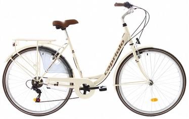 """Jalgratas Capriolo Diana City 16"""" 28"""" Beige"""