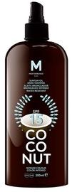 Mediterraneo Sun Coconut Suntan Oil Dark Tanning SPF15 200ml