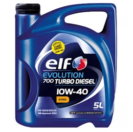 Elf Evolution 700 Turbo Diesel 10W/40 Engine Oil 5l