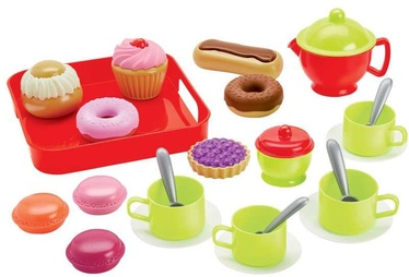 Ecoiffier 100% Chef Tea And Pastries Set