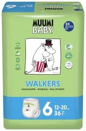 Püksmähkmed Muumi Baby Walkers 6 suurus, 36tk