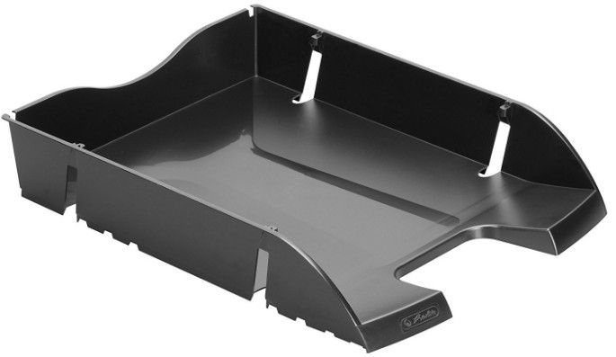 Herlitz Recycle Letter Tray 11247087 Black