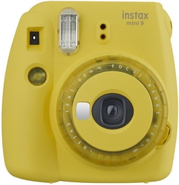 Fujifilm Instax Mini 9 Clear Yellow + Instax Mini Glossy