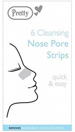 Pretty Pack Cleansing Nose Pore Strips 6pcs