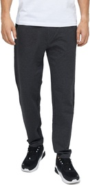 Audimas Stretch Cotton Regular Fit Mens Sweatpants Grey Melange 184/XL