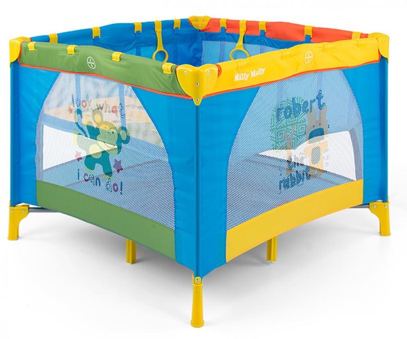 Milly Mally Fun Crib Multicolor