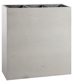 Home4you Flowerpot Sandstone 94.5x34.5x98 Grey