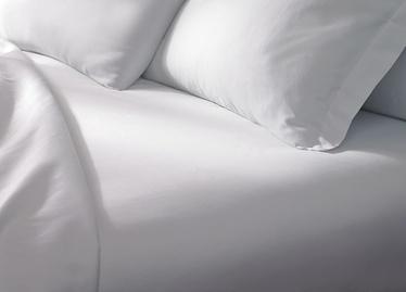 Простыня Domoletti White, 200x220 см