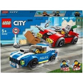 Конструктор LEGO® City 60242 Арест на шоссе