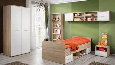 Комплект мебели для детской комнаты ASM Dino II White/Sonoma Oak