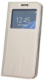 Blun Premium Matt Eco-leather Smart S-View Book Case For Huawei P9 Lite Mini Gold
