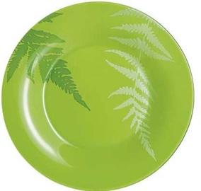 Luminarc Filicaria Dessert Plate D19.5CM Green