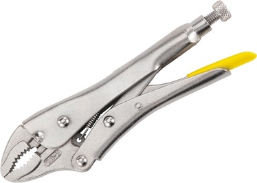 Stanley 0-84-808 Locking Pliers with Curved Jaw 185mm