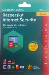 Kaspersky Internet Security 2018 Multi-Device 1-PC 1Y Renew