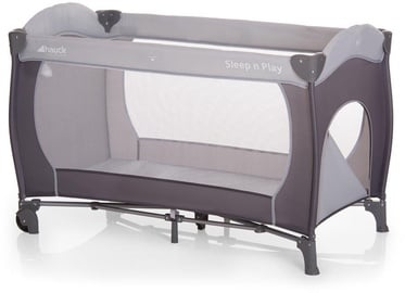 Hauck Sleep N Play Go Plus Travel Cot Stone 600740