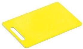 Kesper Plastic Chopping Board 34 24 Yellow