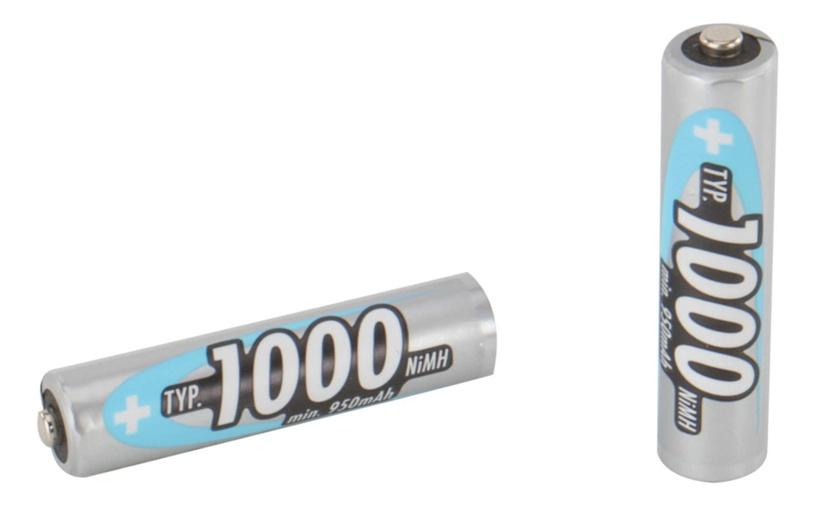 Ansmann HR03 NiMH AAA Rechargeable Battery 4pcs