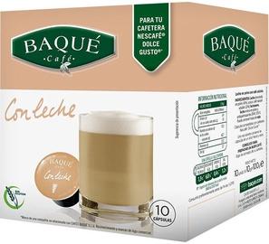 Cafe Baque White Coffee komposteeritavad kohvikapslid, 10 kapslit