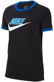 Nike W Tee Futura Ringe T-Shirt CI9374 010 Black XS