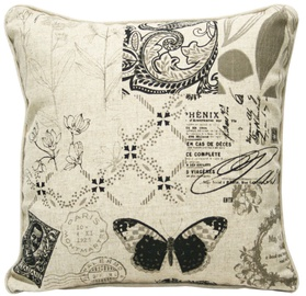 Home4you Home Pillow 45x45cm Butterfly