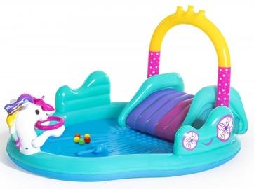 Bestway Inflatable Pool With Slide Unicorn 53097