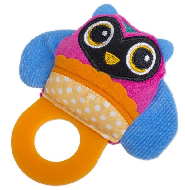 Oops Teething Toy Owl Colorful
