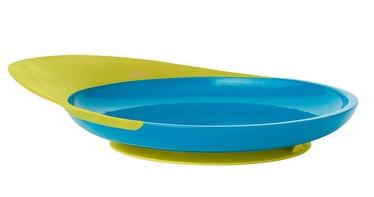 Boon Catch Plate With Spill Catcher Blue/Green B10132