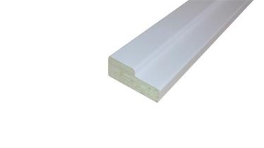 Ukselengide komplekt 725x75 mm, valge