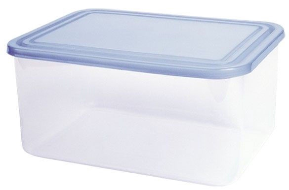 Curver Food Container Rectangle 3L Transparent/Blue