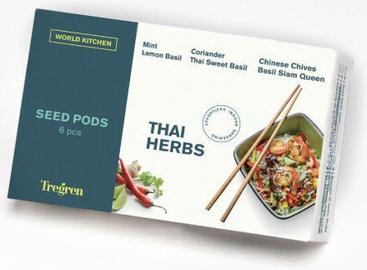 Tregren World Kitchen Thai Herbs Seed Pods 6pcs