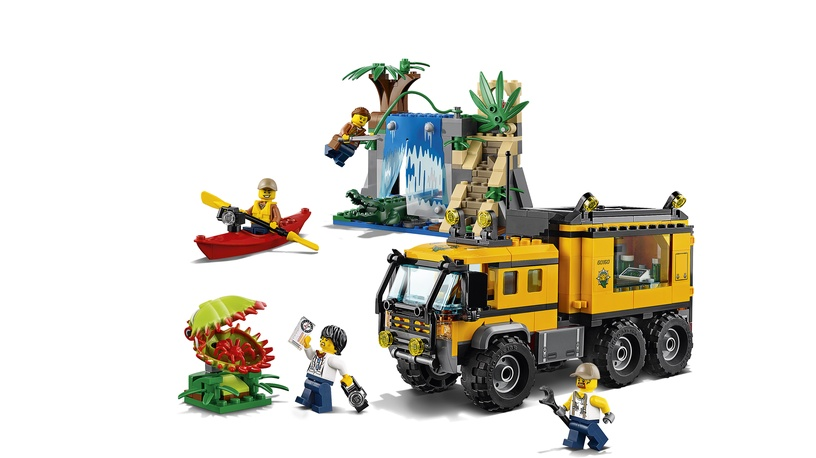 Konstruktor LEGO City Jungle Mobile Lab 60160