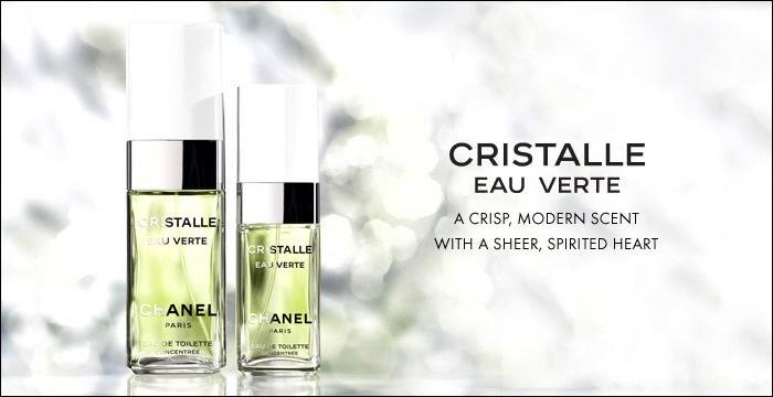 Chanel Cristalle Eau Verte 100ml EDT