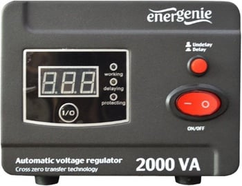 "Gembird Automatic Voltage Regulator and Stabilizer ""Digital Series"" EG-AVR-D2000-01"