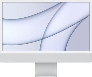 "Lauaarvuti Apple iMac / MGPC3ZE/A / 24"" Retina 4.5K / M1 8-Core GPU / 8GB RAM / 256GB Silver LT"