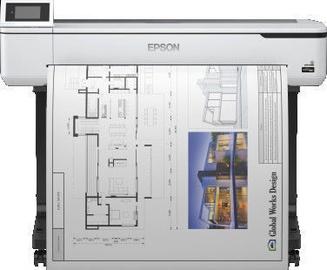 Струйный принтер Epson SureColor SC-T5100, цветной