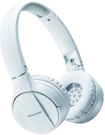 Pioneer SE-MJ553BT Bluetooth Headphones White