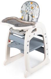 Стульчик для кормления EcoToys Seat, серый