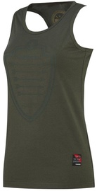 Thorn Fit Arrow Tank Top Army Green M