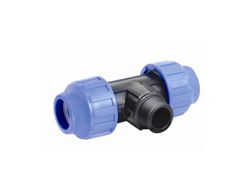 STP Fitting Water Pipe Three Way Connector 711039
