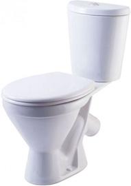 WC-pott Rosa Elegant, kaanega, 355x620 mm
