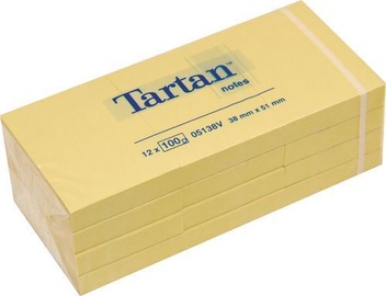 3M Tartan 05138V Sticky Notes 12x100pcs